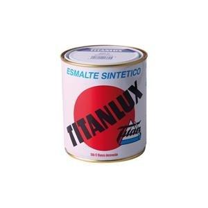 Titan 001566D84 Esmalte Sintético, Blanco Decor, 750 ml