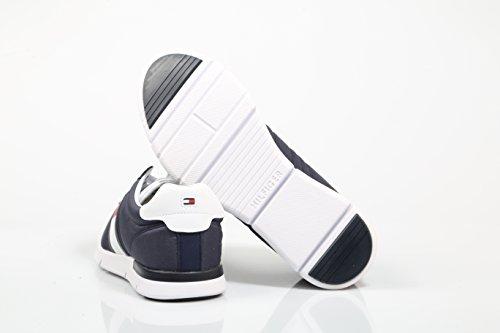 Tommy Hilfiger Herren Retro Sneaker Leggero Blau (tommy Navy 406)
