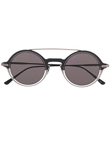 Bottega veneta luxury fashion uomo bv0243s001 nero occhiali da sole | autunno inverno 19