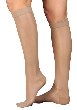 Juzo 2101ADFFSH14 II naturellement Sheer Knee High Bas - Beige