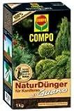 Compo 11997 NaturDünger für Koniferen mit Guano 1 kg