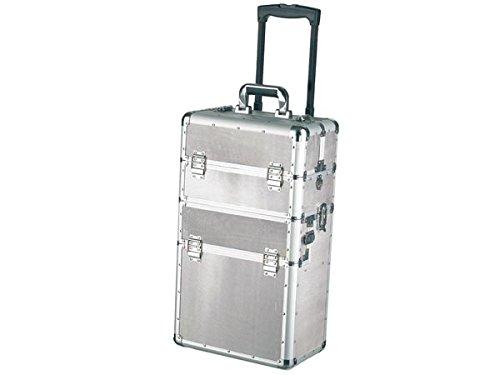 VELLEMANN Werkzeugtrolley, Aluminium, Werkzeugkoffer H:62cm 2 Teilig AL100
