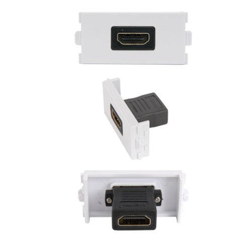 HDMI Buchse Modul/Modular Wall Face Plate Outlet-3D High Speed v1.4 - Hdmi-modular Wall Plate