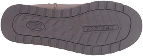 Skechers Keepsakes Leatherette Mid Button , Botte d'hiver femme Marron (Brn Brun)