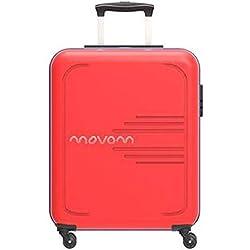 MOVOM Flash Equipaje de Mano, 55 cm, 37 litros, Rojo