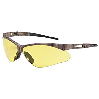 Bouton Safety Glasses 250-AN-10122 Anser - Amber Anti-Scratch Lens With Camouflage Frames by Bouton