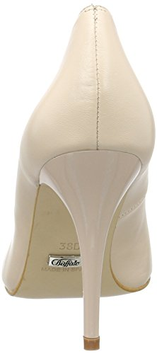 Buffalo London  11877-305 KID, Chaussures à talons - Avant du pieds couvert femmes Beige (Nude 01)