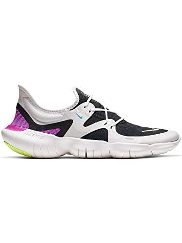 Nike Herren Free Rn 5.0 Laufschuhe, Weiß (Summit White/Volt Glow-Black-B 100), 42 2/3 EU B Free Schuhe