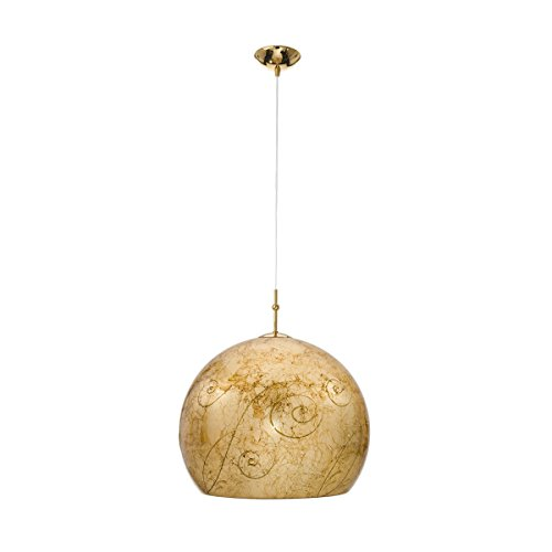 Pendelleuchte LUNA Medici von KOLARZ, 1-flammig, Gold, 0392.31L.3.Me.Au - Pendelleuchte Medici