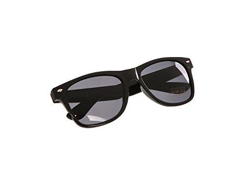 SIMSON Sonnenbrille mit SIMSON/MZA Logo - Schwarz/Rauchgrau