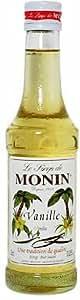 Monin Vanilla Syrup, 250 ml Bottle