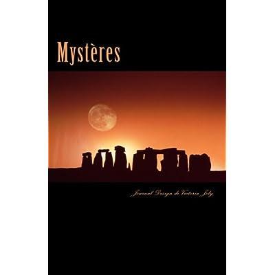 Mysteres: Journal/Carnet de Notes/Idees/Inspiration/Creativite/A retenir - Collection Mystere 3