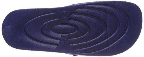 KangaROOS K-Bath V, Mocassini Unisex – Adulto Blau (Dk Navy/Dresden Blue)
