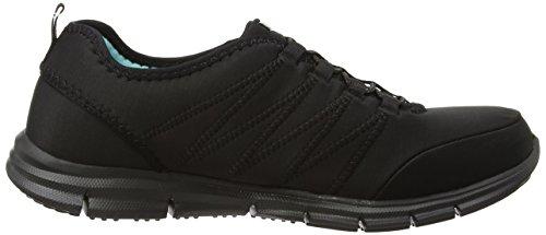 Skechers - Gliderelectricity, Sneaker Donna Nero (bbk)