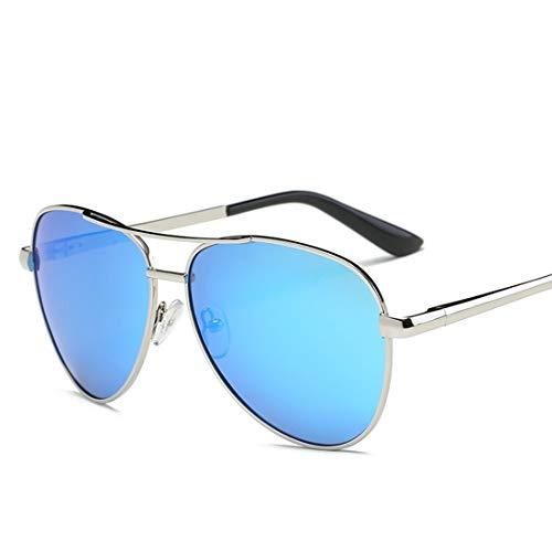 Shiduoli Mode Sonnenbrillen Runde Sonnenbrille Retro Kreis Abgetönte Brillengläser für Radfahren Laufen Fahren Angeln (Color : A)
