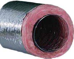 Flex Duct (Quietflex 10 R8.0 Metalized Insulated Flex Duct - 25' Box by Quietflex)
