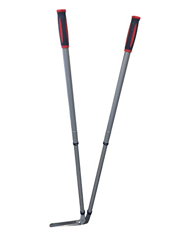 The Spear & Jackson edging shears have taken the comfortability of your posture as you work. This brand of edging shears has adopted the telescopic handles feature. That means whether you are short or tall you have the ability to use this shears. The handles are very accessible and can extend up to 1.14m. You can escape doing garden chores for a while and let your spouse handle it.