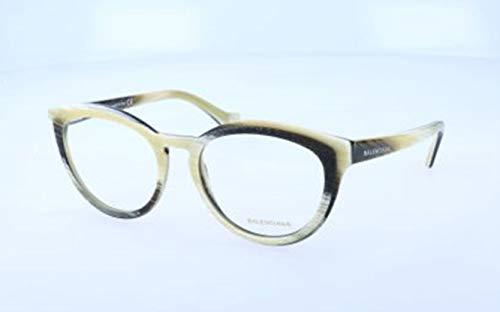 Balenciaga Damen Ba5031 064-52-18-140 Brillengestelle, Mehrfarbig, 52