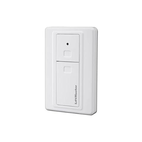 LiftMaster 2-Kanal Funkwandtaster 128EV, 433 MHz für Garagentorantriebe (Liftmaster Tür Batterie)