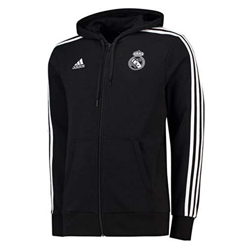 adidas Real Madrid 3S Kapuzenjacke Herren L - 52 54 19059861ef199