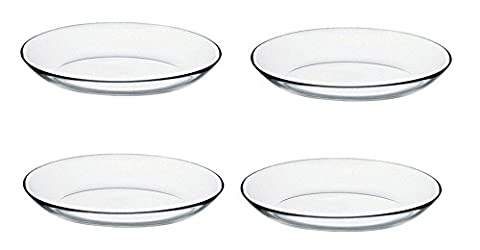 Pasabahce Glass Oval Round Savoury Snack Sweet Dessert Party Serving