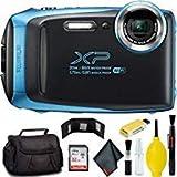 FUJIFILM FinePix XP130 Digital Camera (Blue) Plus Bundle