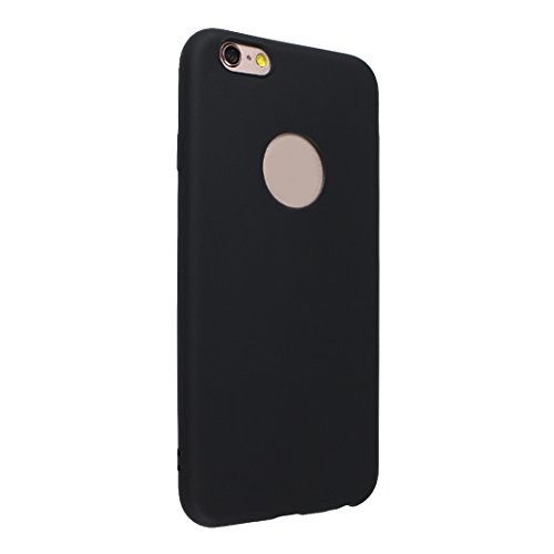 3 Pack Handyhülle für iPhone 6S, iPhone 6 Slim Back Cover, Rosa Schleife Ultra Dünn TPU Handyhüllen Lightweight Weiche Soft Silikon Cases Cover Bumper Schale für iPhone 6 / 6S Schwarz & Weiß & Rot