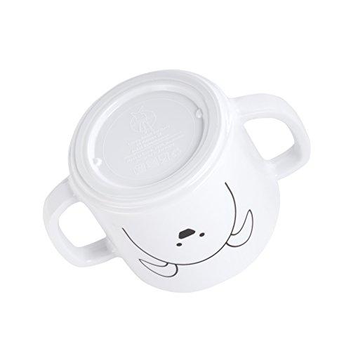 Lässig Kindergeschirr mit Silikonboden - 6