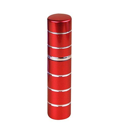 kingnew 10ml Parfümzerstäuber nachfüllbar Flasche Travel tragbar mini Pumpe Spray Zerstäuber (rot)