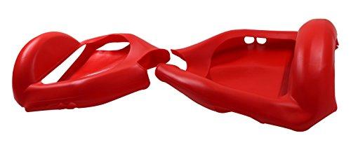 "6.5""Cover/Schutzhülle Silikon Hoverboard Segway 2 Räder, Cool&Fun Shell Anti-Kratz-Wasserdicht Volle Deckung (Rot)"