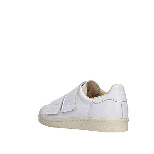 adidas Superstar 80s CF W, Scarpe da Ginnastica Basse Donna Bianco (Footwear White/footwear White/linen 0)