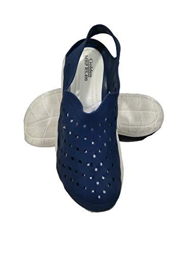 Angel Fashion Lightening Sandal Clogs for Men,Blue,9 (UK/India)