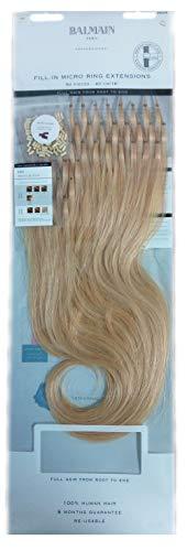Fill In Micro Ring Extensions Balmain 40cm Natural Light Blonde 10G 50 Stück -