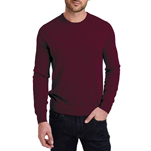 Full Iron Mann Kostüm - VBWER Männer Long-Sleeve Beefy Muskel Top Slim Fit Basic Sportlich Bequem Solid Bluse T-Shirt