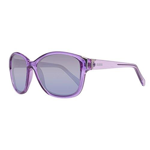 Guess Damen GU7324-57O62 Sonnenbrille, Violett (Morado), 57