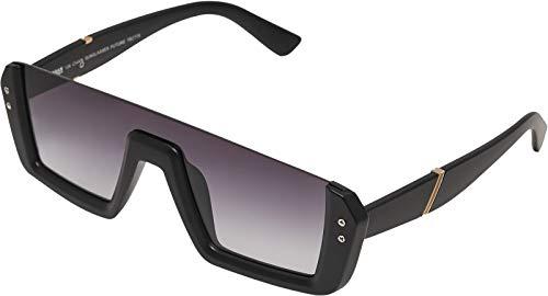 Urban Classics Unisex-Erwachsene 106 Chain Sunglasses Future Sonnenbrille, Black, 60
