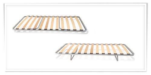 AILIME SRL - SOMIER DE LAMINAS (80 X 185 CM  ORTOPEDICO  PLEGABLE)
