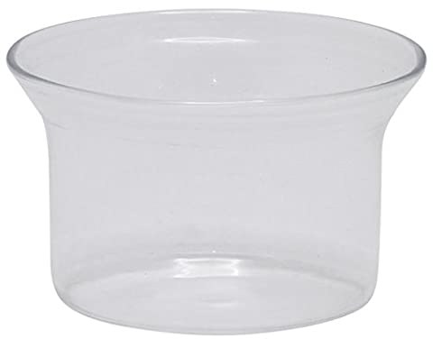SouvNear Small Minimalistic Clear Glass Tea Light Holder - Home / Party Decorations