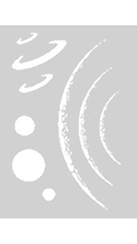 Createx Schablone Mylar -Weltall/Planeten Step-by-Step 262 531