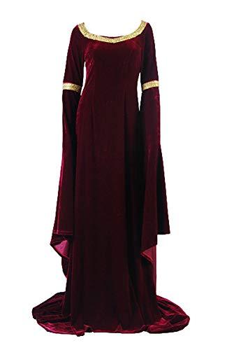 RedJade Arwen's Cranberry Herr der Ringe Gown Kleid Cosplay Kostüm Damen ()