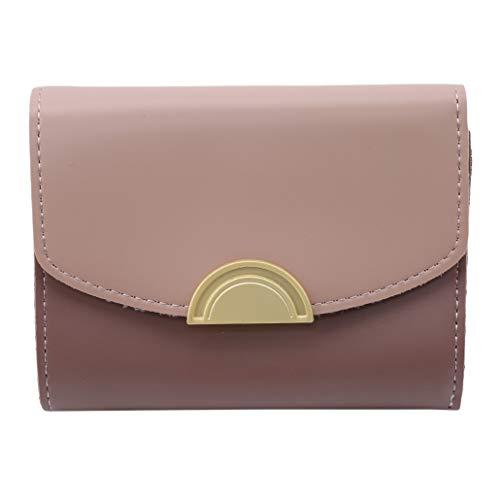 NYAOLE Mini-Kühltasche aus PU-Leder, halbrunde Schnalle, Kurze Schnalle, Rosa, Comme Description -