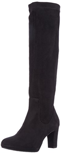 Tamaris Damen 25522 Stiefel, Schwarz (Black), 37 EU (Stretch Stiefel Damen)