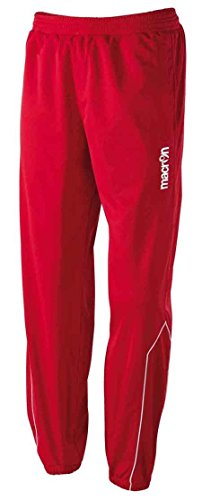 CHEMAGLIETTE! Pantalone Tuta da Ginnastica Uomo Macron Era Pant Fondo Stretto con Elastico, Colore: Rosso, Taglia: XL