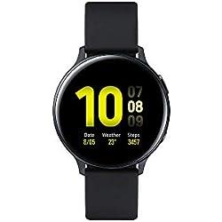 Samsung - Montre Galaxy Watch Active 2 - Aluminium 44 mm - Noir Carbone - Version Française