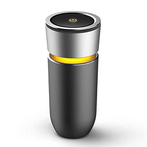 PANQQ Auto Luftreiniger Handy-Ladegerät Negative Ionen zusätzlich zu Formaldehyd Geruchsfilter PM2.5 grau luftfilter (Heap Handys)