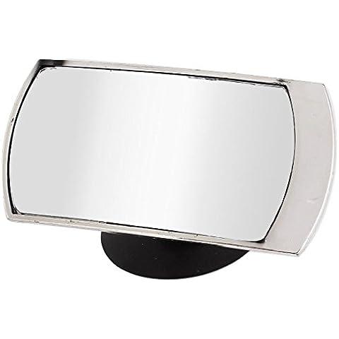 Del coche del capítulo rectángulo Plasic de ángulo muerto del espejo retrovisor w ventosa