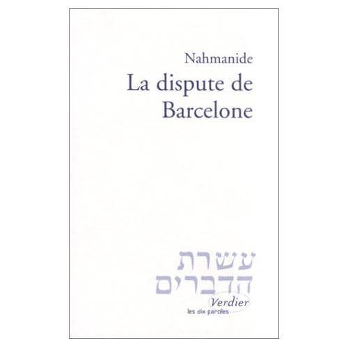 La Dispute de Barcelone, suivi du commentaire sur Esaïe 52-53