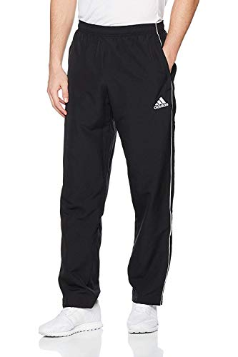 adidas Herren Core 18 Hose, schwarz (Black/White), M
