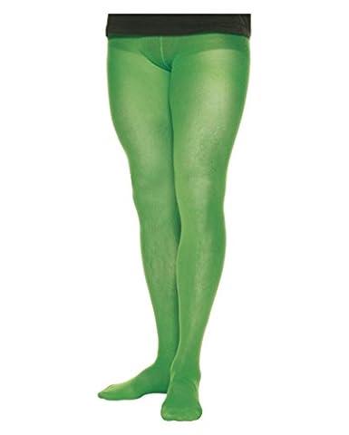 Hommes collants vert