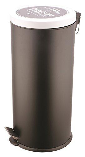 JE CHERCHE UNE IDEE Ich Suche eine Idee kb5734Bistro Abfalleimer Edelstahl schwarz 29,4x 36,7961,2cm x CX24027L/5L -